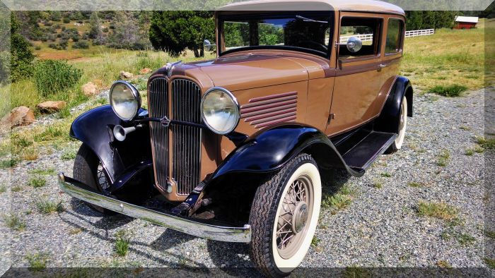 "1932 Willy's Overland 6-90 ""Tudor"" 2dr Hardtop"