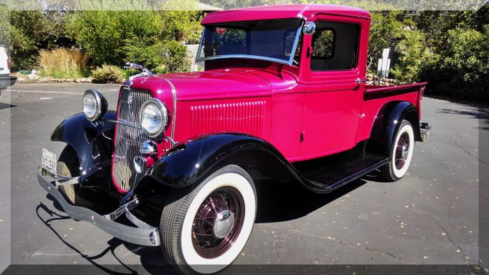 1934 Ford Stepside Pick Up