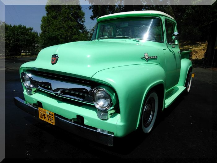 1956 Ford 'Custom Cab' Truck