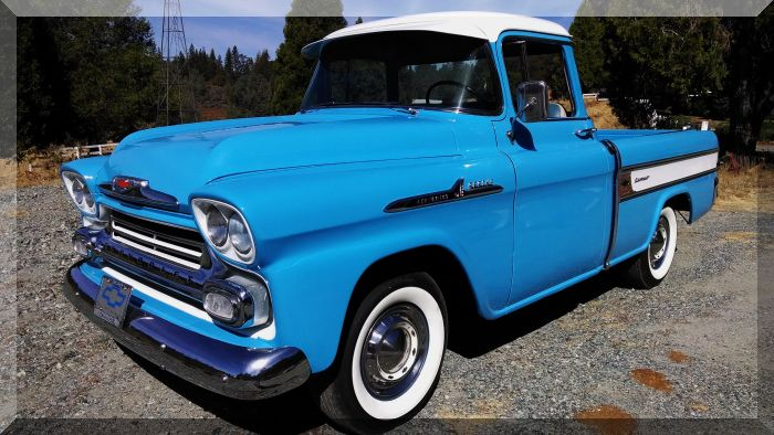 1958 Chevy Cameo Pick Up