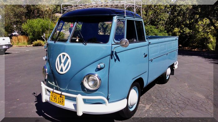 "1959 VW Transporter ""Single Cab"" Model 261 Pick-up"