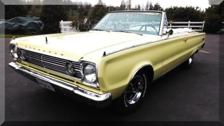 "1966 Plymouth ""Sport Satellite"" Convertible"